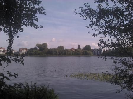 Halbinsel Stralau in Berlin - Orte zum Lesen